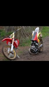 LOOKING FOR SMASHED DIRT BIKE