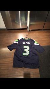 Seahawks Wilson SB patch jersey