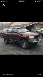 Lifted Ford Expedition