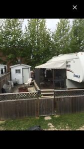 5th Wheel for sale Mariner's Cove Candle Lake Private Lot