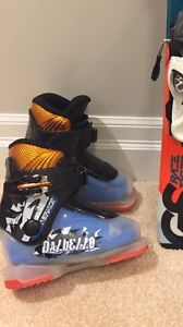 Junior/Kids Ski Boots and Skis - Like New!