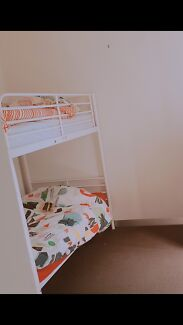 Ikea bunk bed frame with 2mattress