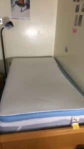 3 Inch Memory Foam Twin Mattress Topper