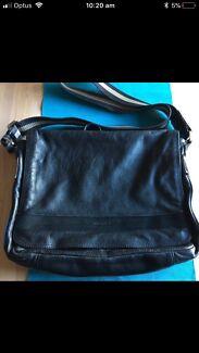 Marcs Satchel Leather Bag