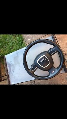 Audi A5 S Line Steering Wheel And Bag 2008-2011 With Paddle Shift