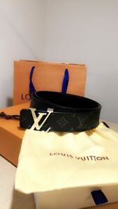 Men's Louis Vuitton 40mm Reversible Leather Belt - 95cm / 38inch