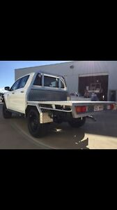 Alloy dual cab tray hilux Gladstone Gladstone City Preview