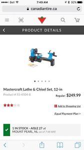 Mastercraft mini wood lathe