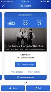 The Tenors Home for the Holidays Concert