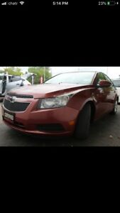 2012 CHEVY CRUZE LT 5000$ OR TRADE