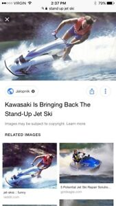 Wanted stand up jet ski