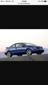 Looking for a Honda Civic SI 8th Gen