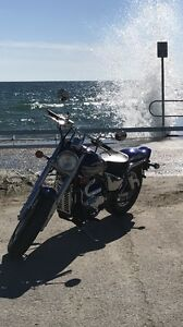 Suzuki marauder fun and fast and sounds awesome