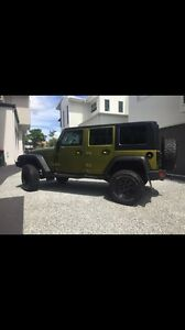 Jeep Wrangler  unlimited sport 2008 Carina Brisbane South East Preview