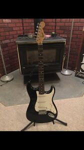 Squier strat with Traynor amp