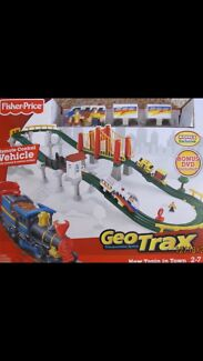 Wanted: WTB fisher price geo trax train set