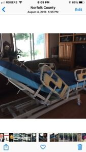 HILL ROM. Electric hospital bed