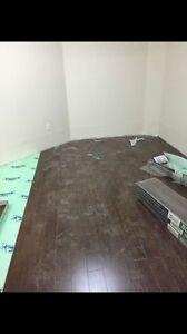 PHardwood, laminated, engineers, vinyl flooring installing  Edmonton Edmonton Area image 5