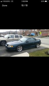 Mint 1995 mustang gt convertible about 300hp