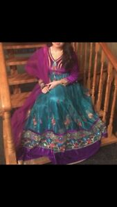 Beautiful Net Anarkali - Indian Pakistani