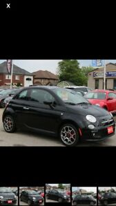 2015 FIAT 500 COUPE 97700 KMS