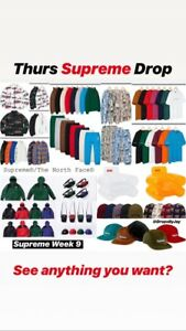 Supreme / The North Face October 18, 2018 SLOTS