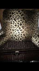 New quality cheetah print arm rest seated pillow.