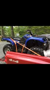 Next out C&C cycles 2004 Yamaha grizzly 660 only 7000km
