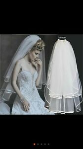 Brand new wedding veil / hair piece  just arrived