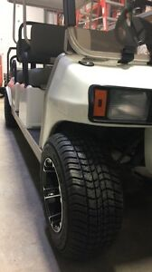 2011 custom 6 person golf cart