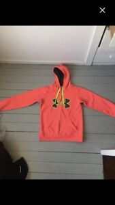 under armour sweater pink