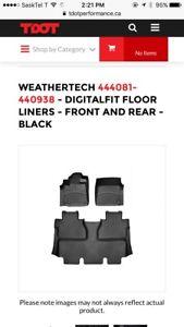 Tundra 2014 weathertech floor mats