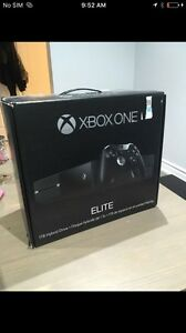 Xbox one system - 1tb + games - controller wires