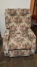Single seater floral design recliners Salisbury Salisbury Area Preview