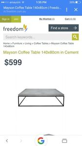 Industrial coffee table Leppington Camden Area Preview