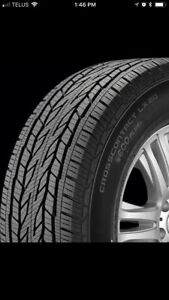 New 275/55R20 Continental Cross Contact LX20 Tires