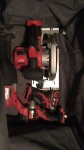 Milwaukee battery tools for sale