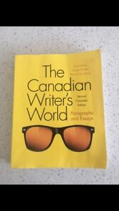 The Canadian Writer's world SECOND Edition
