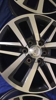 Toyota hilux sr5 rims Lennox Head Ballina Area Preview