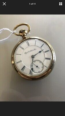 1901 Elgin 18S 17J Pocket Watch 20 Year Gold Filled Immaculate