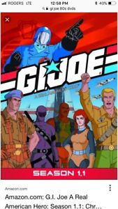 Season 1.1 G.I. joe original 80s series on dvd