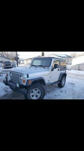 04' Jeep TJ for sale