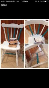 Shabby chic chair Elanora Heights Pittwater Area Preview