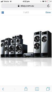 Sony Muteki 7.2 Home Theatre system