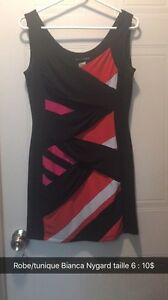Robe/tunique Bianca Nygard, taille 6