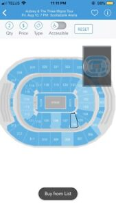 DRAKE AND MIGOS- SUNDAY AUG 12- FACE VALUE TICKETS