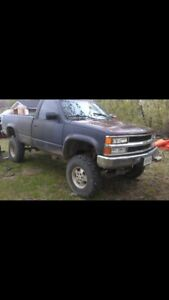 Chev 1500 4x4 lifted