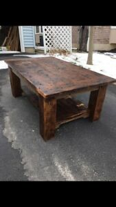CALEDONIA MILL COFFEE TABLE!
