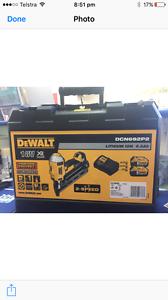 Dewalt battery nail gun Muswellbrook Muswellbrook Area Preview