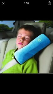 Boys/girls safety pillow for sleep in the car